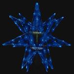 LEDセパレーツギャラクシー 小 ブルー 6枚羽