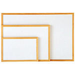 ホワイトボード ウッドフレ-ムC 900×600