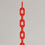 プラチェーン 長さ1.2メートル レッド