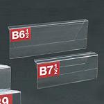 PETマルチカードホルダー B6-1/2 (5枚入)