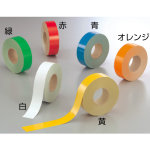 屋内床貼用テープ(ユニテープ) 幅50mm×50m巻 カラー:白 (863-06)