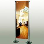 クリエイティブサインズタワー CSS-11 H1525mm (一面)