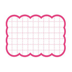 カード 16-4480 抜型カード四角大 ピンク