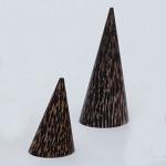 木製円錐リング ヤシ L