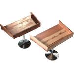 木製エンダー(クリア塗装仕上) 茶