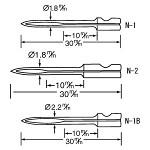 バノック 303 S用 替針 N-1(並) 繊維用