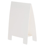テーブルA POP 両面仕様 (1枚入) Lサイズ カラー:ホワイト (56938WHT)