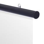 アルミH型パイプ 25-920 ブラック
