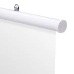 アルミH型パイプ 25-1220 ホワイト