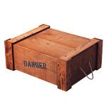 DANGERBOX 3型 ライトオーク(茶)