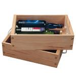 ワイン木箱 2本入 白木