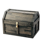 海賊宝箱 L ブラック