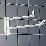樹脂製 ネットフック 白 ダブルタイプ NW-100
