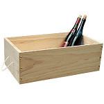 ワイン木箱  白木 (無塗装)