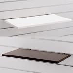 スロットウォール用木棚セットW600 D350 ホワイト