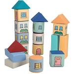 「ぼくらの街づくり」 クッション遊具 たてものブロック
