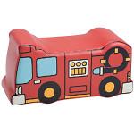 「ぼくらの街づくり」 クッション遊具 消防車 W490×D200×H250