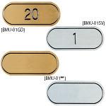 テーブルナンバー MU-01ゴールド数字(1~100からご指定ください)