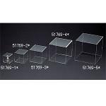 アクリル4面ボックス 透明 140角