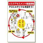 リスクアセスメントPDCA標識 (320-41)
