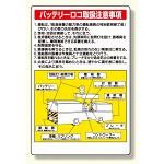 ずい道用関係ステッカー バッテリーロコ取 (324-11)