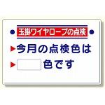 玉掛関係標識 玉掛ワイヤロープの点検 (327-15)