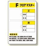フロアマスター標識 写真ケース付標識 (348-52)