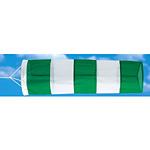 吹流し 緑/白 650Φ×2150? (372-31)