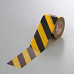 塩ビ・トラテープ (セパ無) 斜線タイプ 45mm幅×10m巻 (374-03)