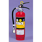 消火器 (普通・油・電気火災用) サイズ:10型 (376-160)