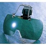 ヘルメット取付型保護メガネ (紫外線遮光用 (379-26)