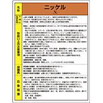 ニッケル 特定化学物質標識 600×450 (815-26)