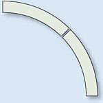ドア開閉表示ステッカー 蓄光 (819-62)