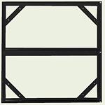 危険物標識 スライドアングル ボンデ鋼板 605×610 (828-95)