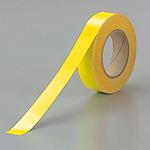 蛍光テープ (セパ付) 黄 30mm幅×20m巻 (863-16)