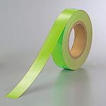 蛍光テープ (セパ付) 緑 30mm幅×20m巻 (863-17)