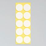 丸型発泡両面テープ (セパ付) 25mmΦ 100個入 (1枚10個付×10) (863-362)