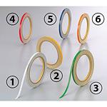 反射テープ (セパ付) 5mm幅×10m巻 (2巻1組) カラー:(4)赤 (863-43)