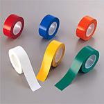 クリーンルーム用防じんラインテープ (強粘着・セパ無) 幅50mm×50m巻 カラー:白 (864-18)