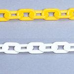 プラスチックチェーン 1.5メートル 黄 871-10