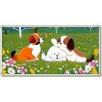 イラストパネル 三匹の犬 1740×3480mm (903-83)