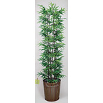 【送料無料】黒竹 (人工観葉植物) 高さ180cm 光触媒 (179A450)