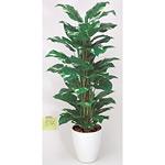 【送料無料】ポトス (人工観葉植物) 高さ120cm 光触媒 (187B200)