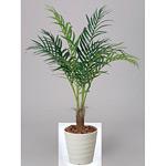 【送料無料】アレカパーム (人工観葉植物) 高さ115cm 光触媒 (197A180)