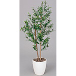 【送料無料】オリーブ (人工観葉植物) 高さ120cm 光触媒 (198A180)