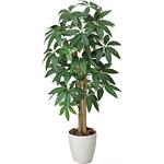 【送料無料】パキラ (人工観葉植物) 高さ100cm 光触媒 (199A150)