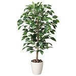 【送料無料】ベンジャミン (人工観葉植物) 高さ100cm 光触媒 (200A150)