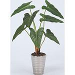 フィロデンドロン (人工観葉植物) 高さ45cm 光触媒 (243A50)