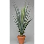 【送料無料】リュウゼツラン1.55 屋外対応 光触媒加工無し (屋外用人工観葉植物) 高さ155cm (282A380)