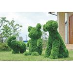 【送料無料】イヌ 屋外対応 光触媒加工無し (屋外用人工観葉植物) 高さ68cm (289B450)